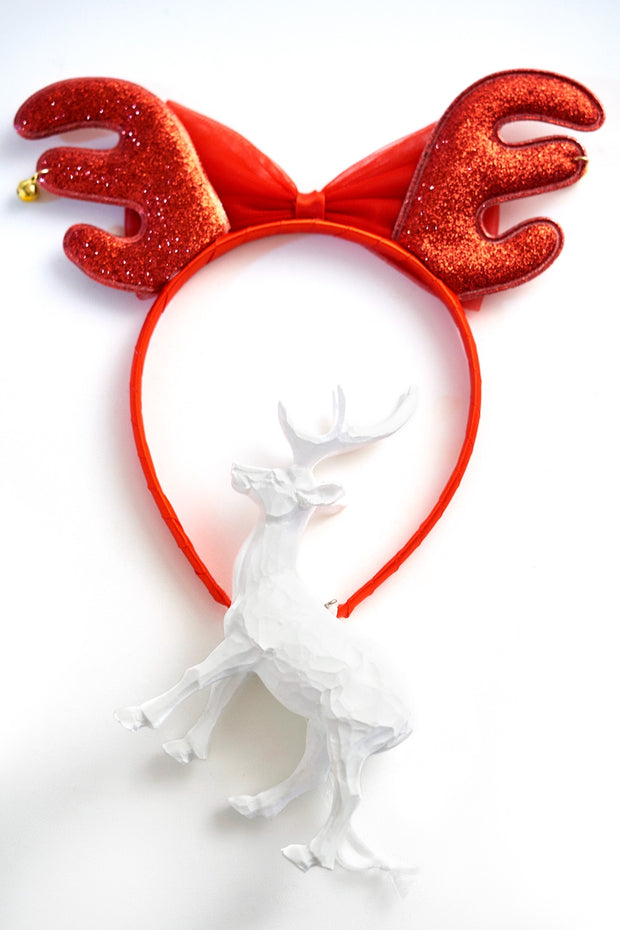 Rudolph Hairband With Bell