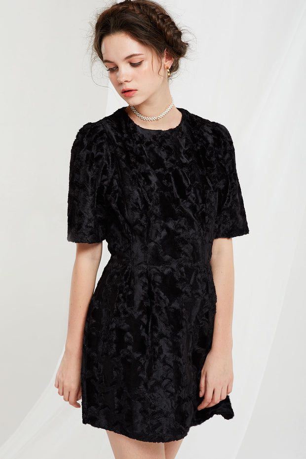 Angelica Textured Dress
