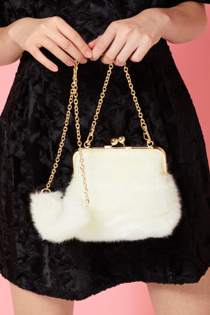 Karla Faux Fur Purse