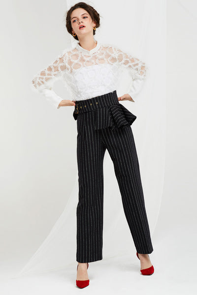 Amelia Pants with Detachable Peplum