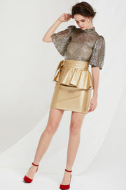 Fiona Skirt with Detachable Peplum