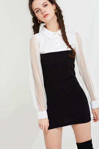 Felicia Tube Shirt Dress