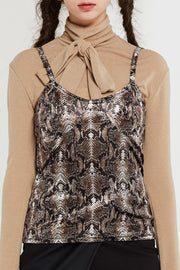Gisele Patterned Tank Top