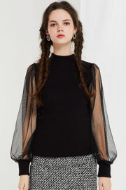 storets.com Elissa Sheer Sleeve Top