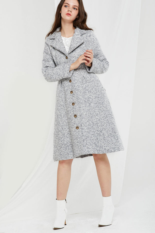 Felicia Long Coat-2 Colors