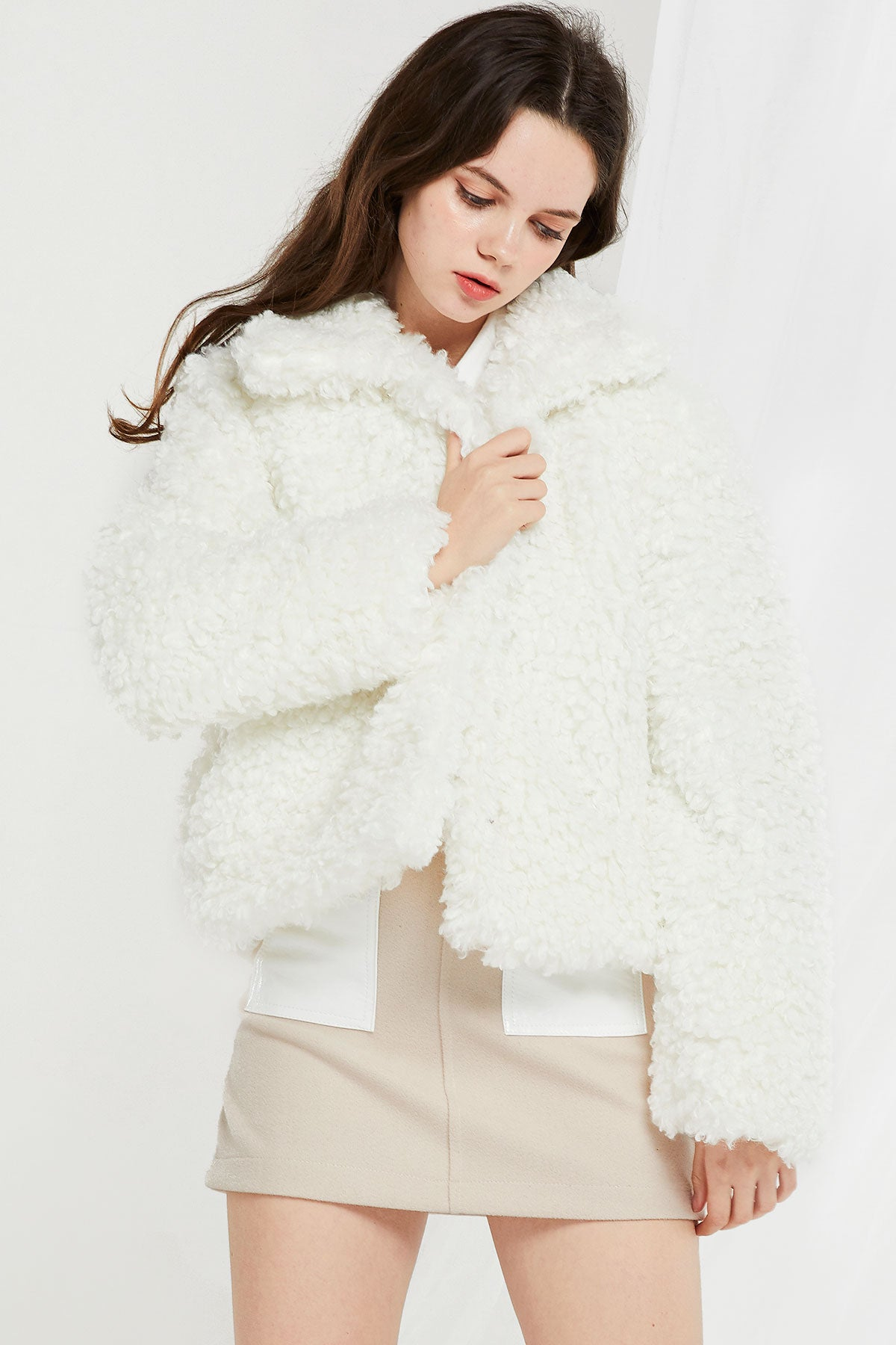 Faux Sheep Wool Jacket