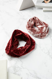 Velvet Twisted Hair Wrap-3 Colors