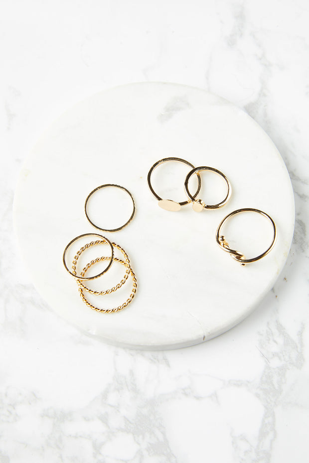 Millie Rings (Set of 7)