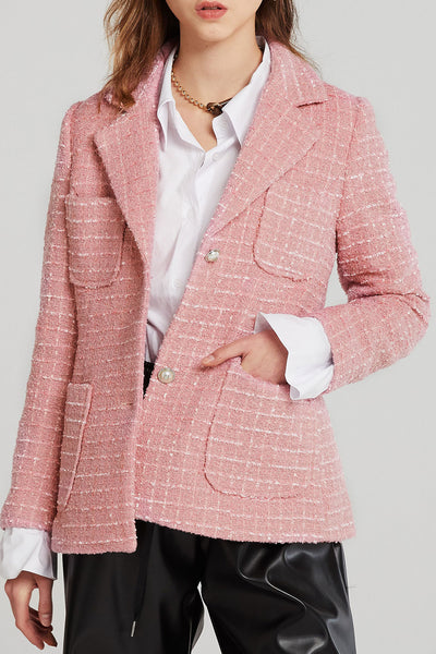 Bailey Boucle Tweed Blazer