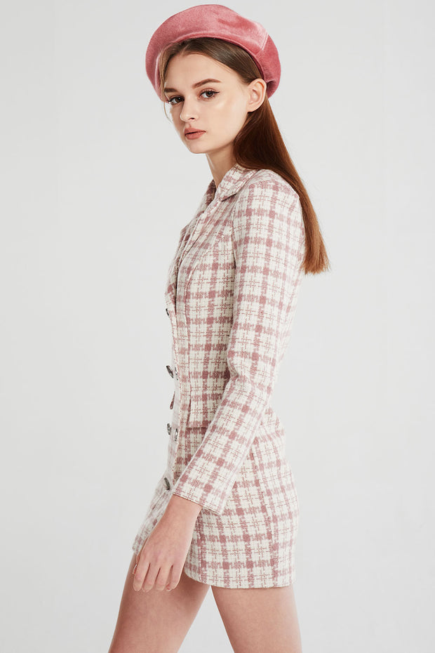 Veronica Tweed Blazer Dress