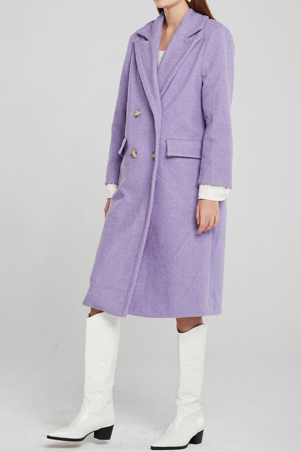 storets.com Macy Double Breasted Long Coat