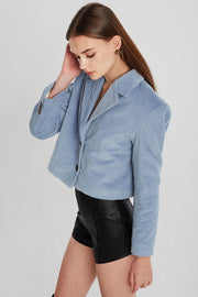 Brooklyn Cropped Cord Jacket