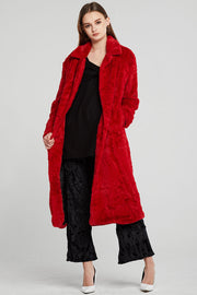 Monica Fluffy Fur Long Coat