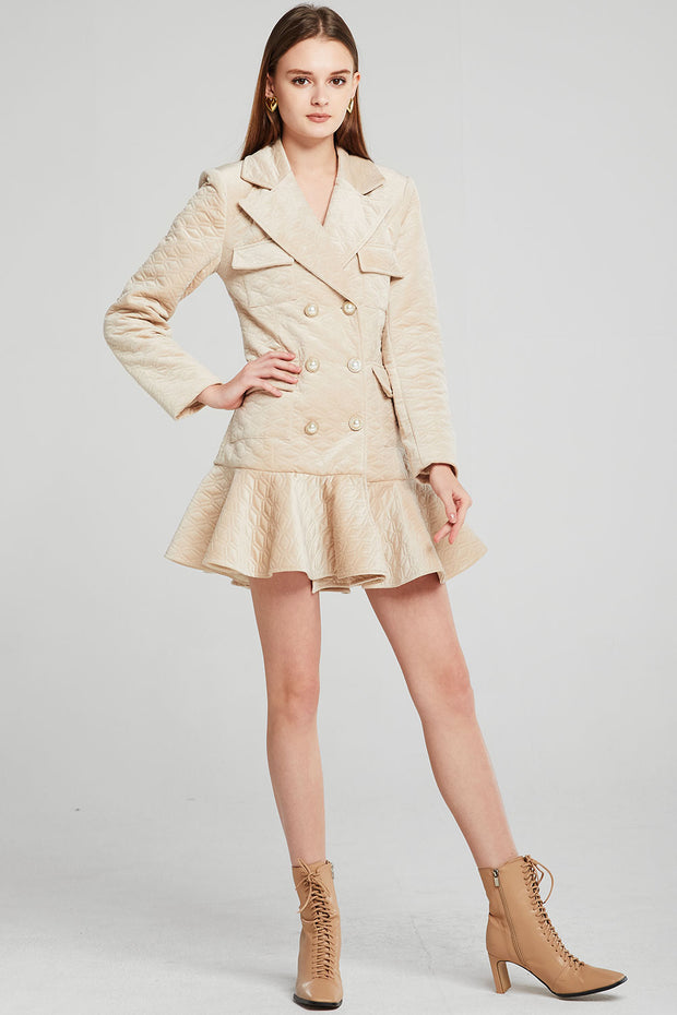 Olivia Padded Blazer Dress