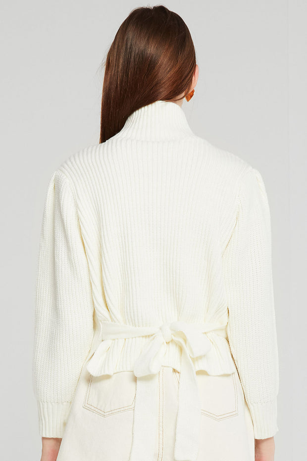 Ellie Rib Knit Jumper w/Belt