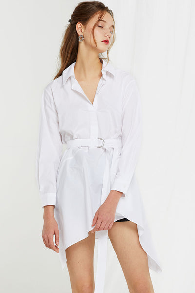Rita Belted Shirt Dress
