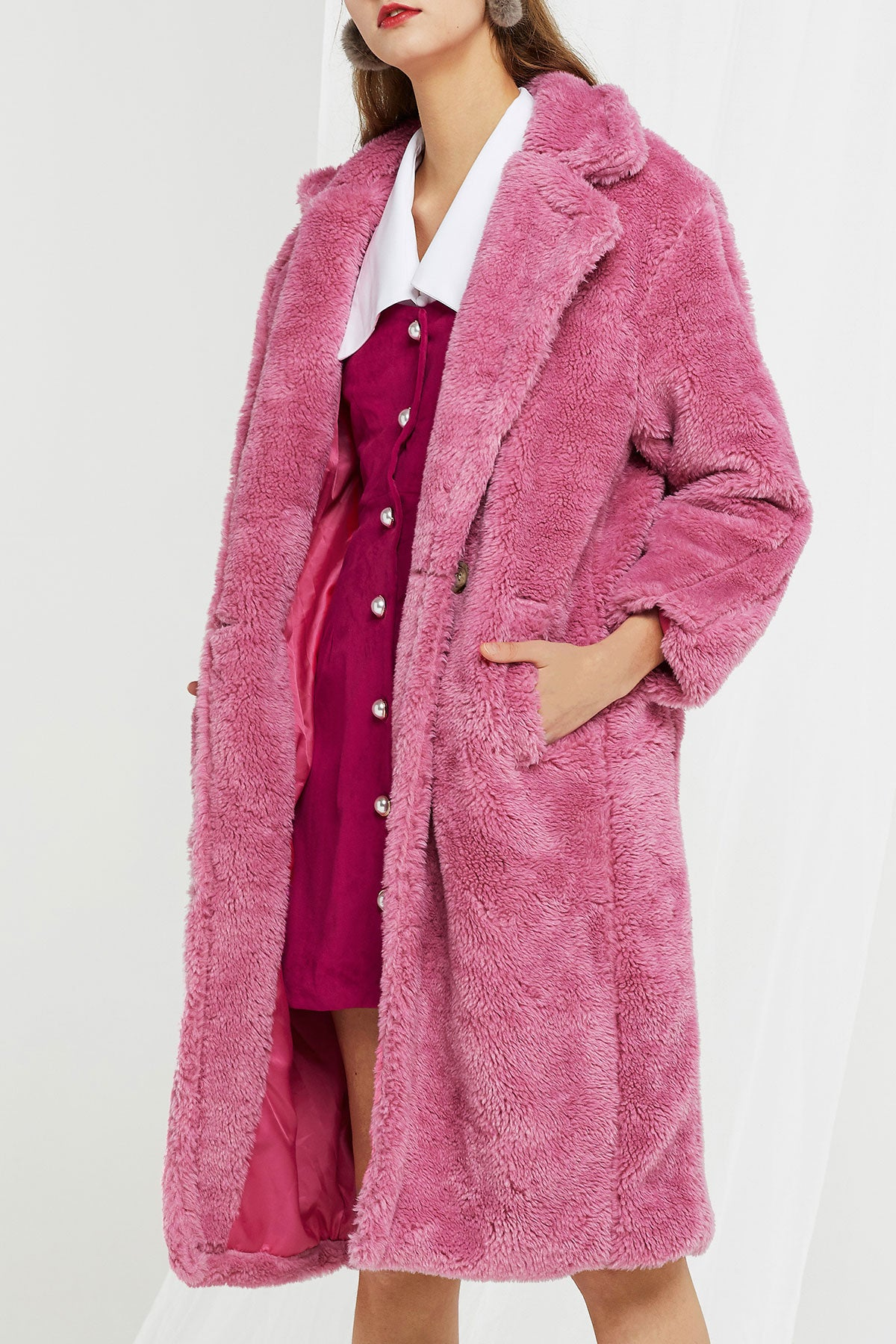 Louise Teddy Coat-2 Colors