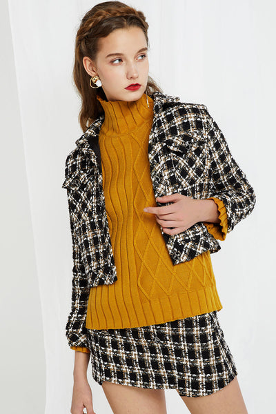 Joanna Tweed Jacket and Skirt Set
