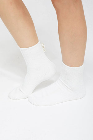 Miley Pearl Socks