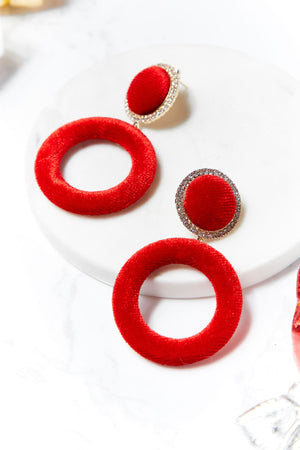 Mona Velvet Earrings