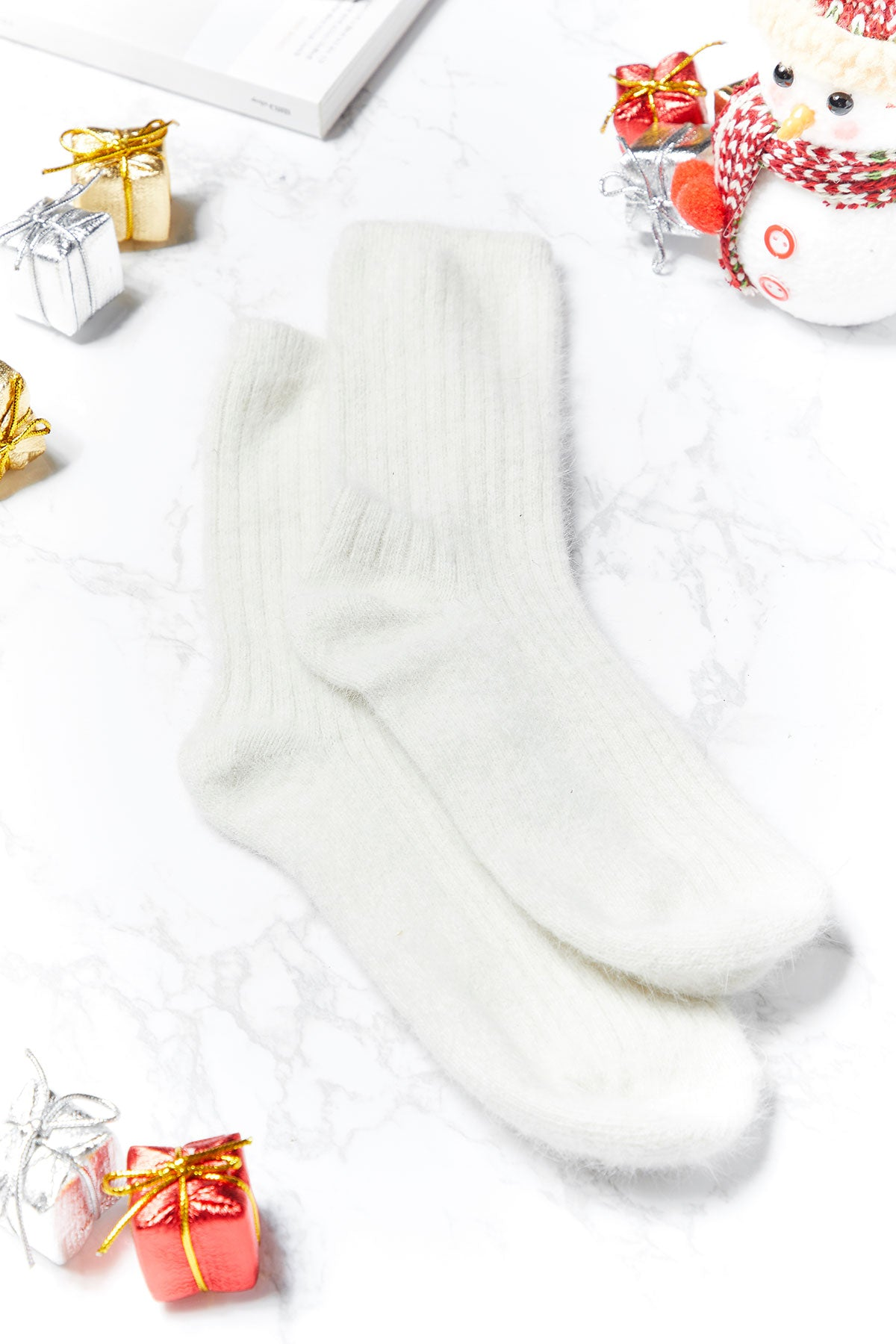 Amelia Knitted Socks-2 Colors