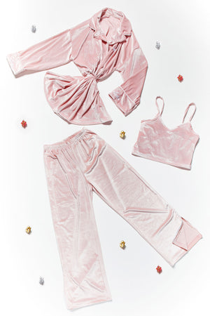Shelley Velvet Pajama Set