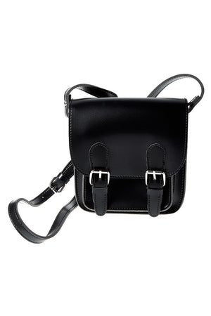 Black Mini Satchel Bag