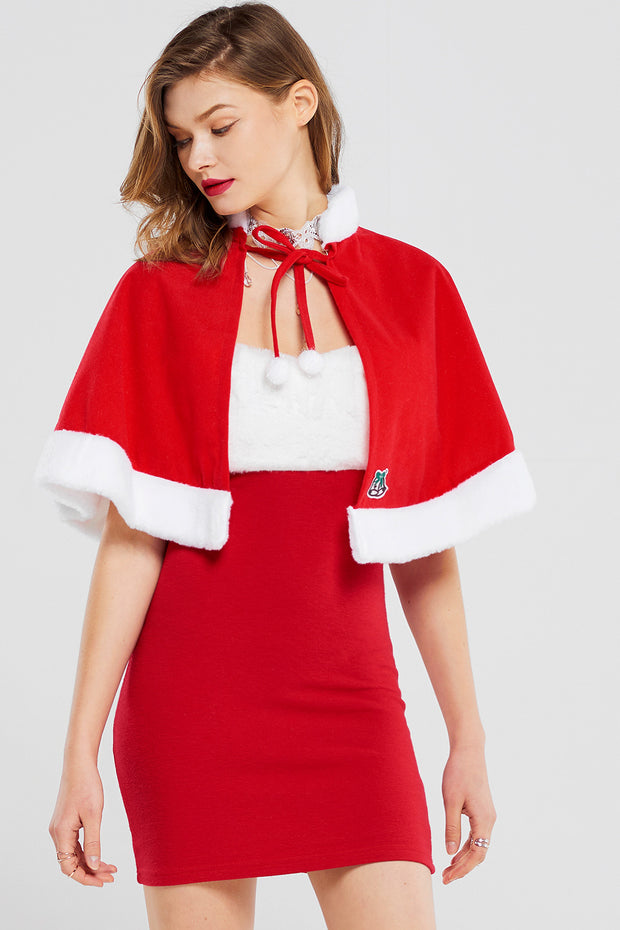 Santa Cape With Hat