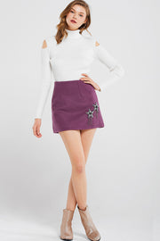 storets.com Vicky Star Mini Skirt