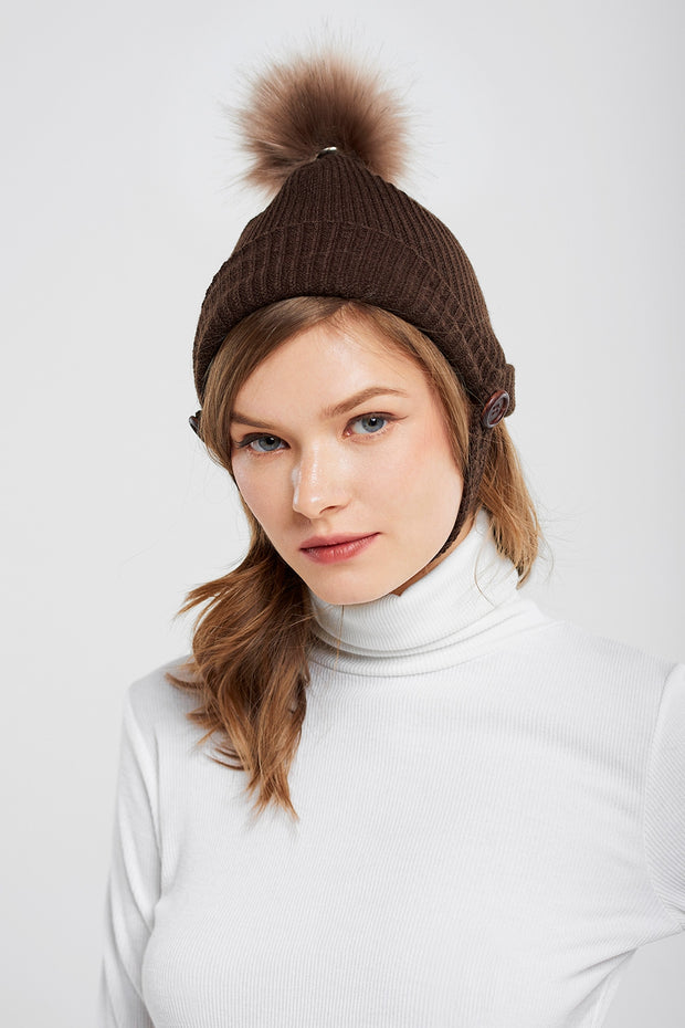 Knitted Riding Hat