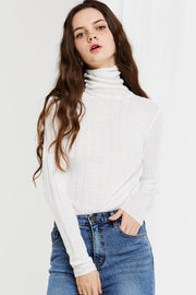 Fena Ribbed Turtle Neck-3 Colors
