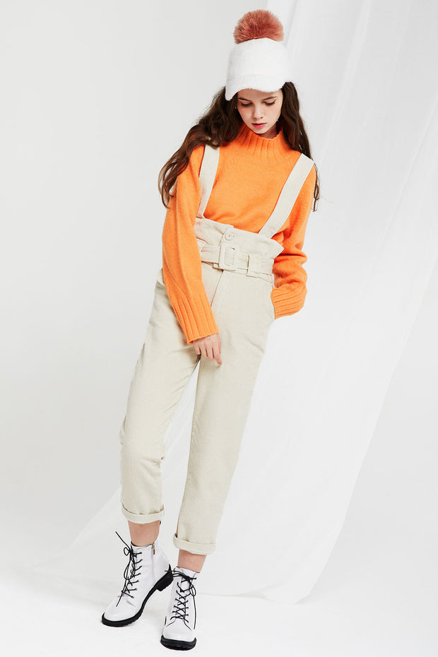 storets.com Sima Corduroy Belted Overall