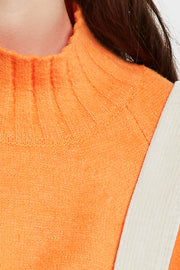 April Mock Neck Sweater-2 Colors