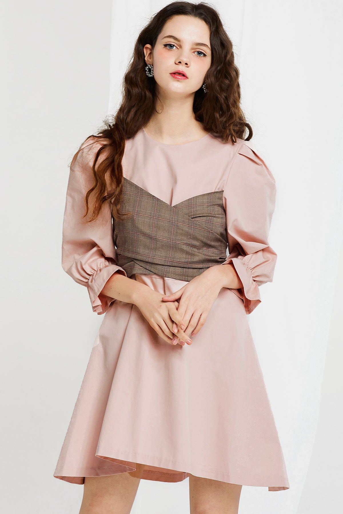 Evelyn Dress with Sash