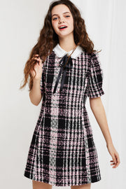 storets.com Mia Collared Dress in Tweed