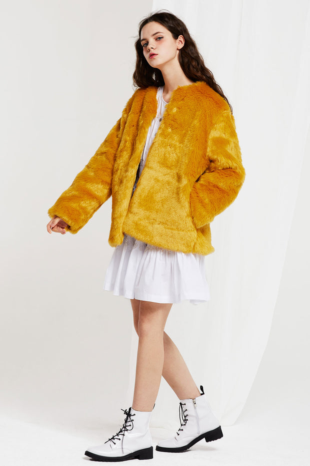 Mila Faux Fur Coat