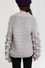 Jody Half Neck Chunky Pullover-4 Colors