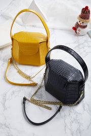 Croc Cross Body Bag-2 Colors