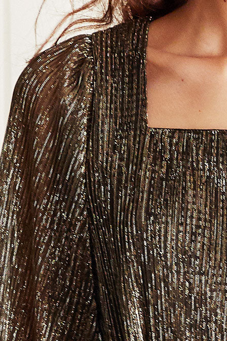 Lorelei Metallic Shimmer Dress