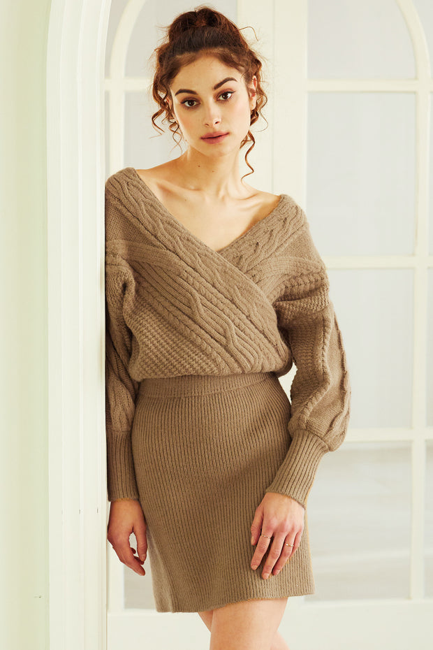 Kimber Cable Knit 2-Piece Set