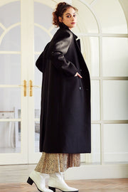 storets.com Leyla Quilted Lining Belted Coat