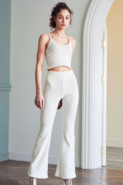 Phoebe Bell Bottom Cord Pants