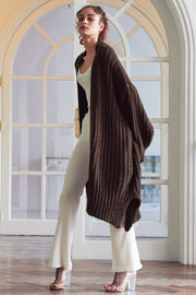 storets.com Elliot Ribbed Knit Maxi Long Cardigan