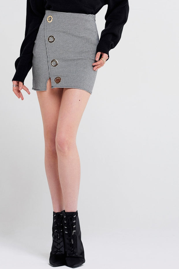 Kate Eyelet Mini Skirt