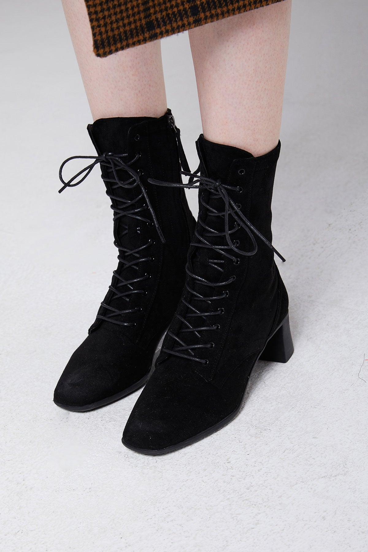 Marta Lace Up Boots