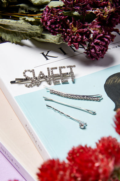 Say Sweet Bobby Pin Set by STORETS