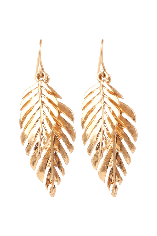 Melissa leaf Earrings