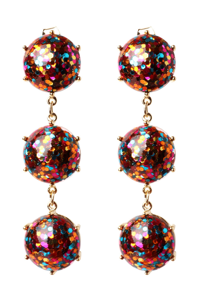 Bedazzled Drop Earrings