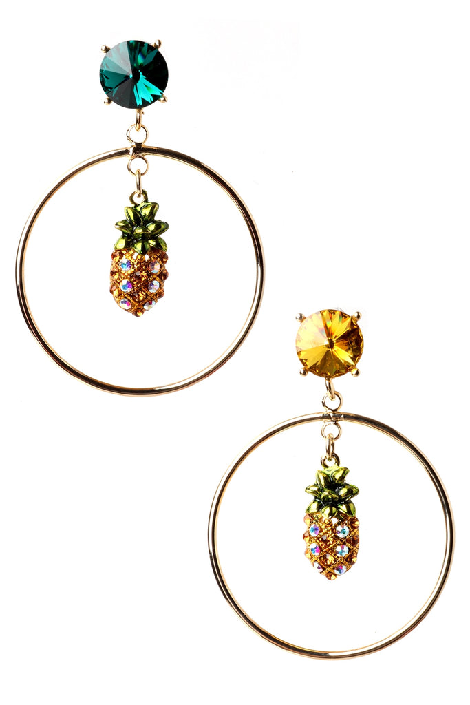 Tropical Crystal Earrings
