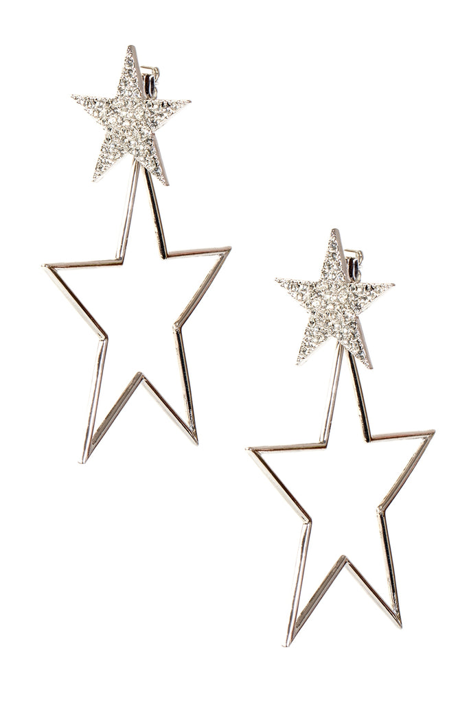 Twinkling Star Drop Earrings